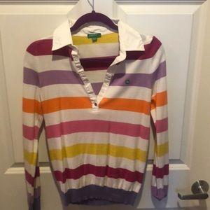 Benetton lightweight sweater. Size Medium